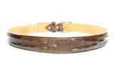 Sendra belt caiman brown