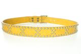 Sendra belt 1007 Studs Yellow