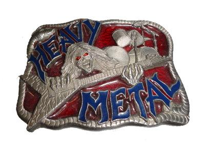 Heavy metal buckle