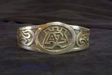 AZ fan zilveren armband